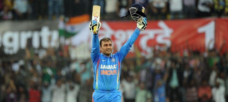 Former opener Virender Sehwag is one of the most destructive batsmen of all time in all 3 formats