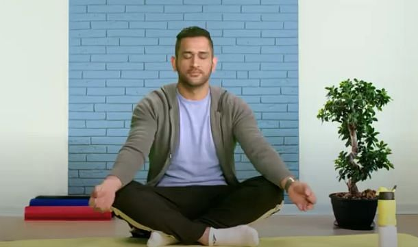 Captain Cool can benefit others by preaching meditation.