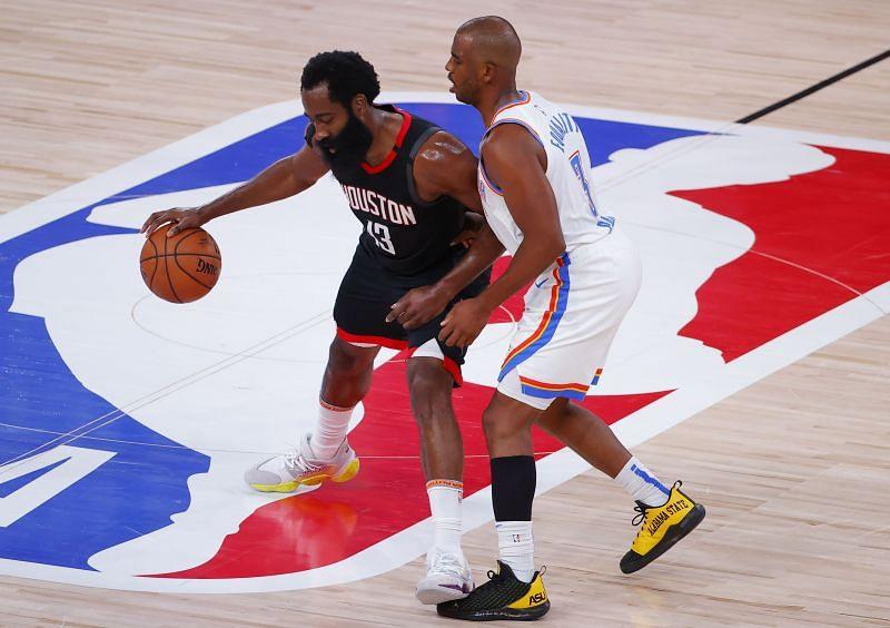 The Houston Rockets hope to outlast the Oklahoma City Thunder