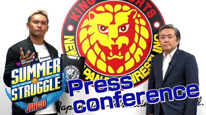 Kazuchika Okada proposes a new title for NJPW.