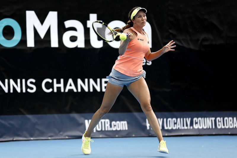 Danielle Collins at the 2020 UTR Pro Match Series