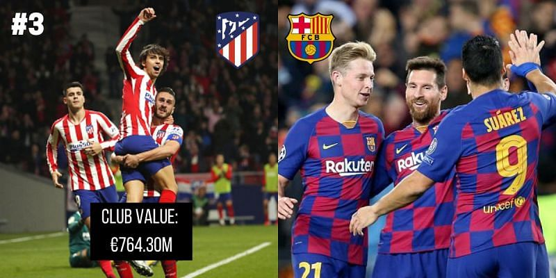 Which club holds the tag of being the most valuable team in LaLiga?