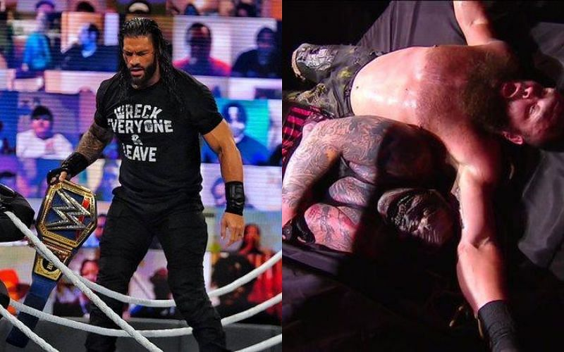 Roman Reigns at WWE Payback 2020