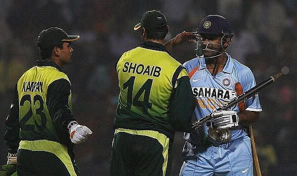 Shoaib Akhtar and MS Dhoni had many a battle on the cricket field