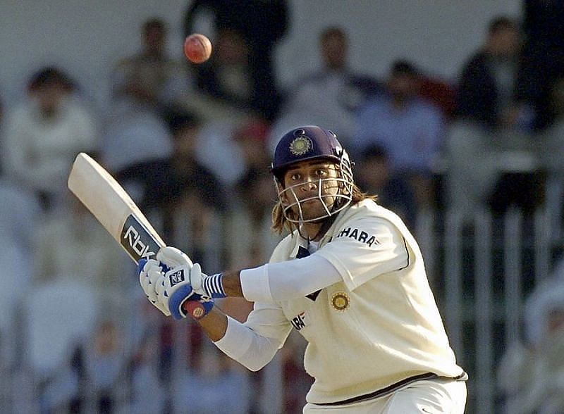 MS Dhoni smashed Shoaib Akhtar all around the park in the Faisalabad Test of 2006