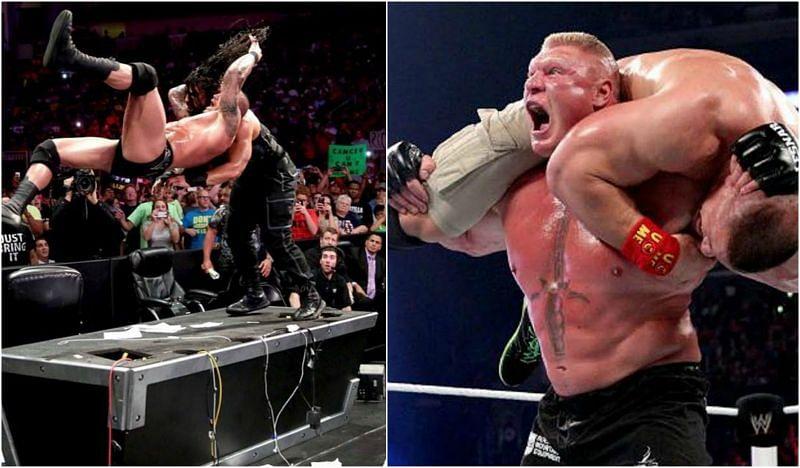 RKO और F5 WWE के दो सबसे खतरनाक फिनिशर्स में से एक हैं