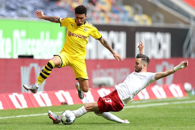 Jadon Sancho is one of the most promising talents in Europe