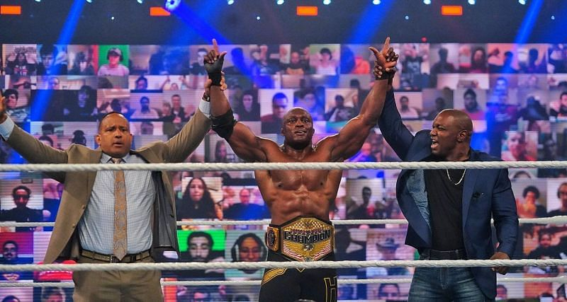 Bobby Lashley of the Hurt Business is the reigning United States Champion.