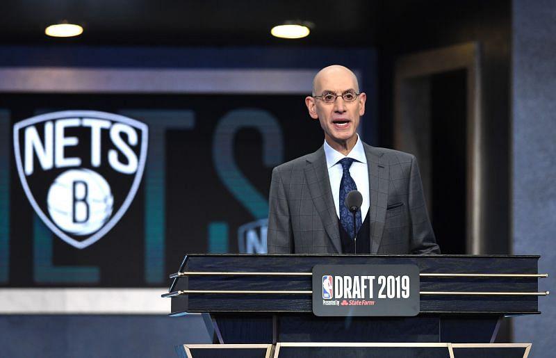Adam Silvery at the 2019 NBA Draft