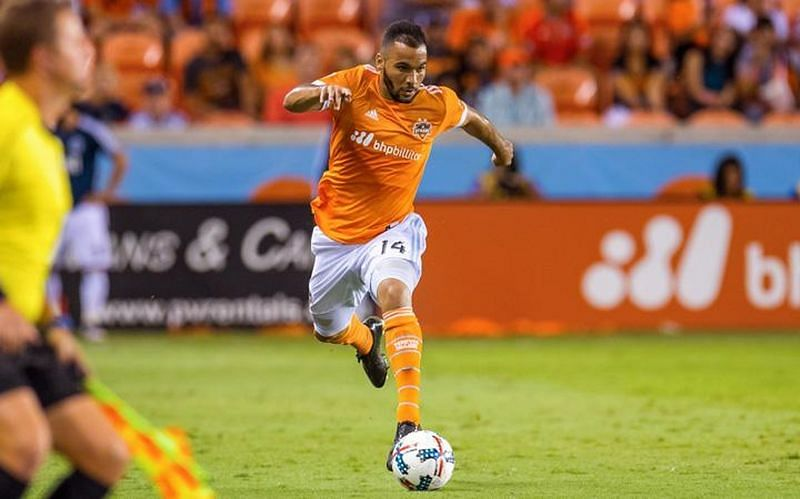 Alex played under Owen Coyle for Houston Dynamo in 2015.