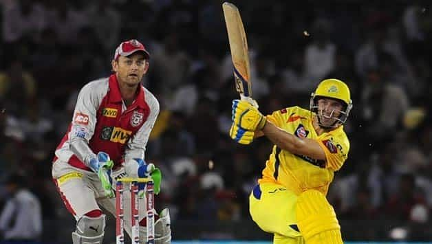 Chennai Super Kings legend Mike Hussey dazzled in the second IPL game of the inaugural season