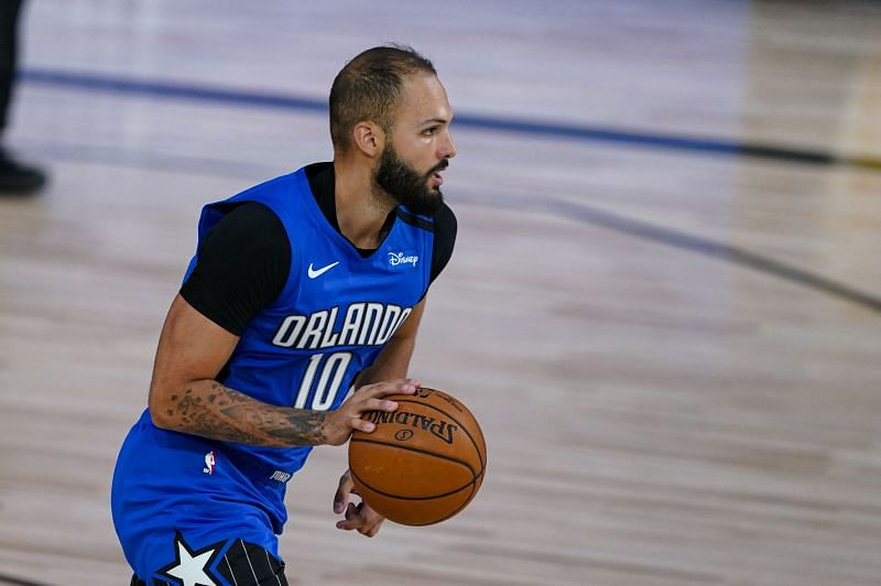 Evan Fournier could make use of his height advantage against the Toronto Raptors