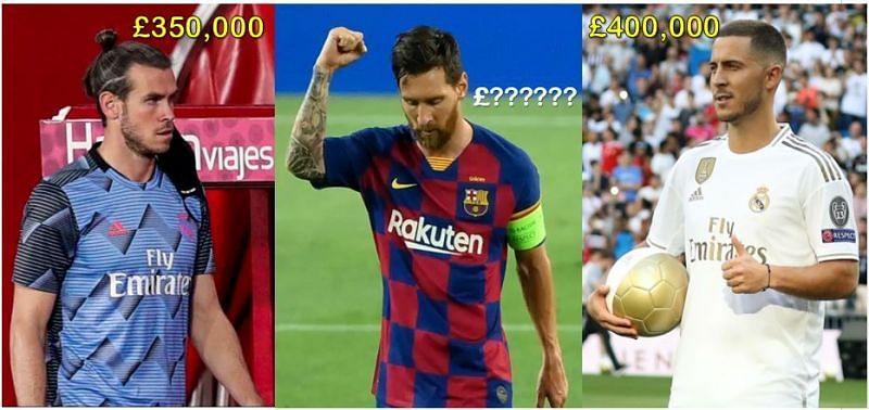 Highest paid Players In La Liga This Season