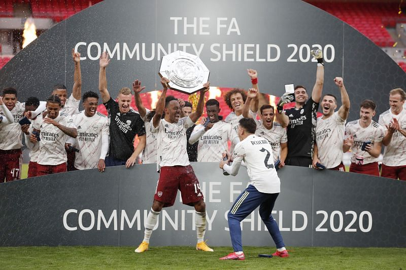 Arsenal kickked off the 2020-21 season with a win over Liverpool in the Community Shield at Wembley
