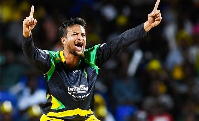 Shakib Al Hasan took 6 for 6 in the first CPL edition