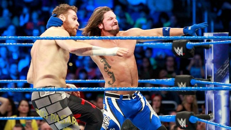 Sami Zayn took shots at AJ Styles