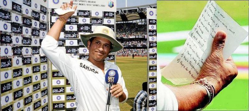 Harsha Bhogle termed Sachin Tendulkar