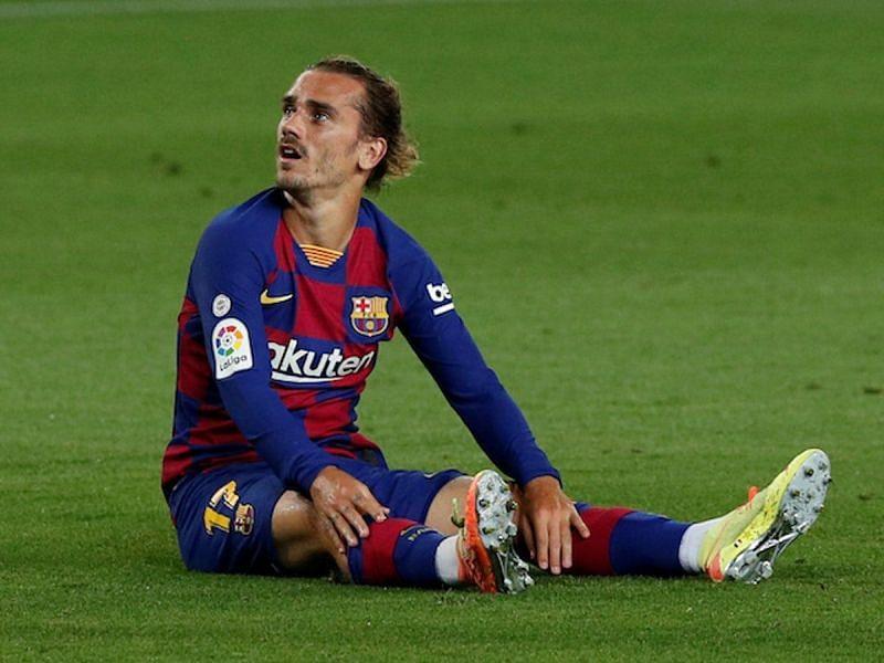 Antoine Griezmann endeared a frustrating maiden season at Barcelona
