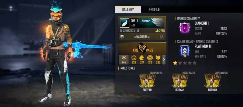 TheHectorino's Free Fire ID