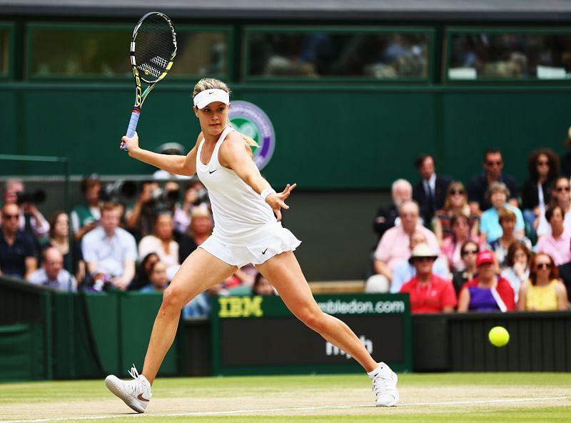Eugenie Bouchard at Wimbledon 2014