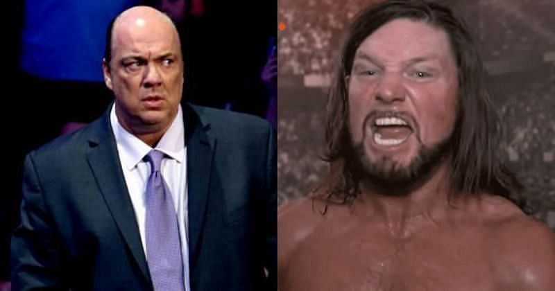 AJ Styles and Paul Heyman