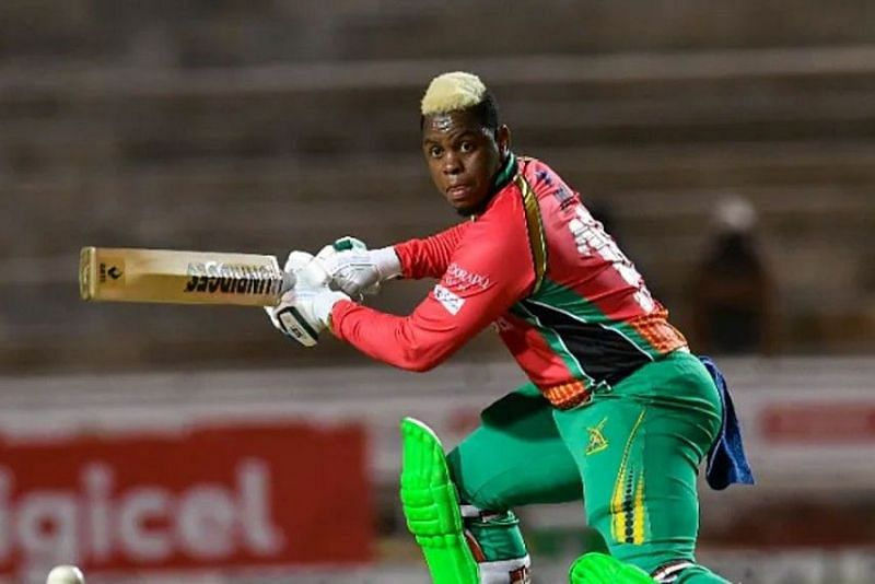 Shimron Hetmyer is the highest run-scorer in the CPL so far