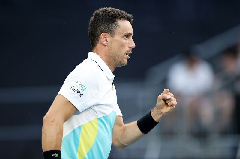 Agut was not a happy chap after the match