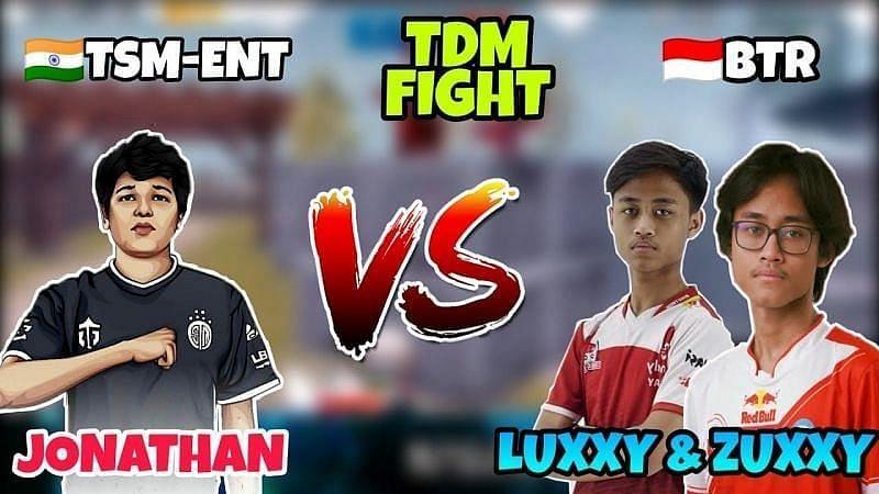 TSM.Ent Jonathan vs BTR Luxxy/Zuxxy (Image Credits: NOvem YT / YouTube)