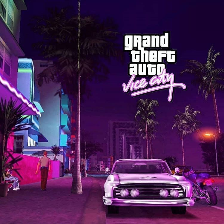 Grand Theft Auto: Vice City (Image Courtesy: Pinterest)