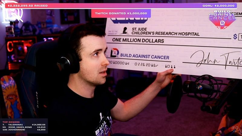 There are a number of streamers who have received life-changing donations during live streams