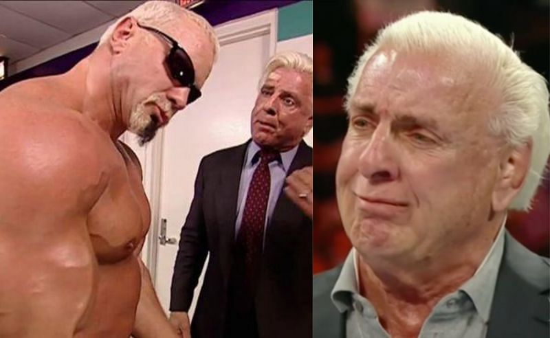 Scott Steiner and Ric Flair in WWE; Ric Flair