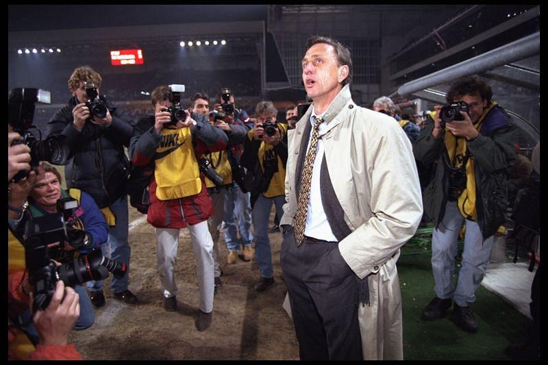 Johan Cruyff transformed football