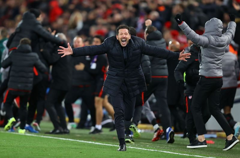 Atletico Madrid pulled off a dramatic comeback to eliminate Champions League holders Liverpool in March