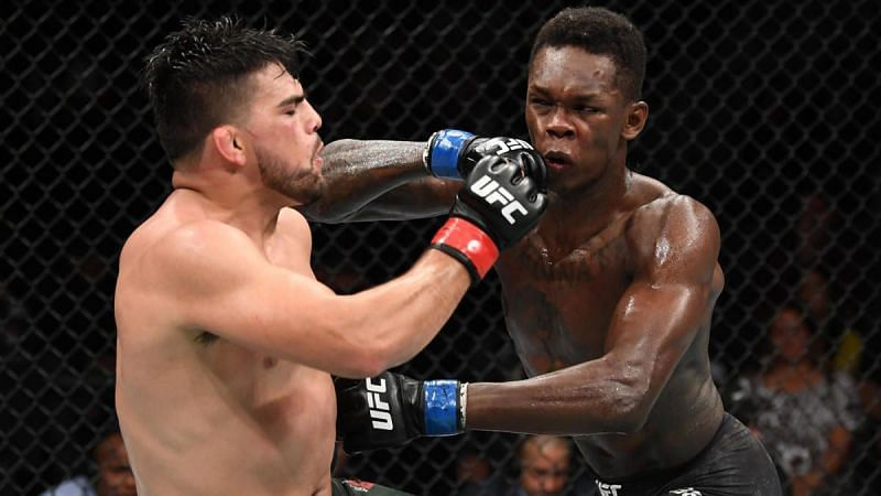 Israel Adesanya utilized his jab to great effect against Kelvin Gastelum