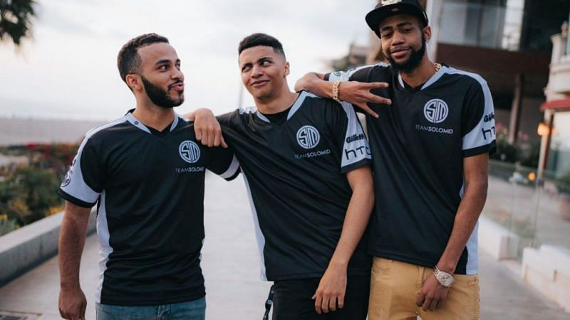 TSM Hamlinz with Myth and Daequan during their streaming days (Image Credits: dexerto.com)