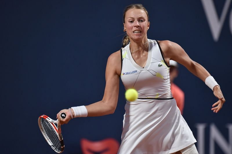 Anett Kontaveit at the 2020 Palermo Ladies Open