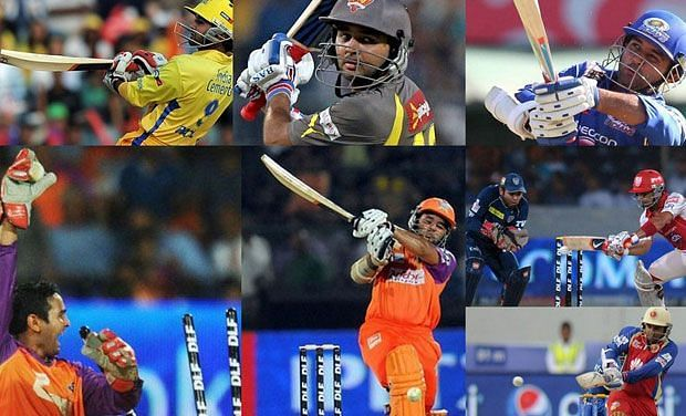 Parthiv Patel turning up for various IPL franchises over the years