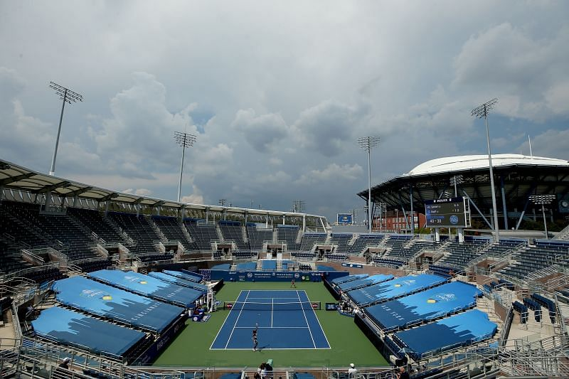 The new courts at Flushing Meadows are playing faster this year
