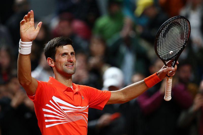 Novak Djokovic has known Robert Lewandowski since January 2016