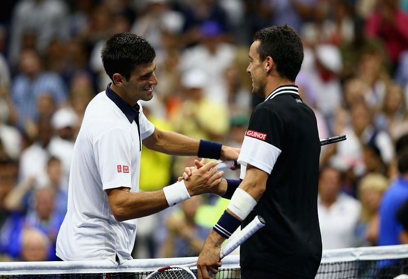 Roberto Bautista Agut lost to Novak Djokovic in the Cincinnati Masters semifinals