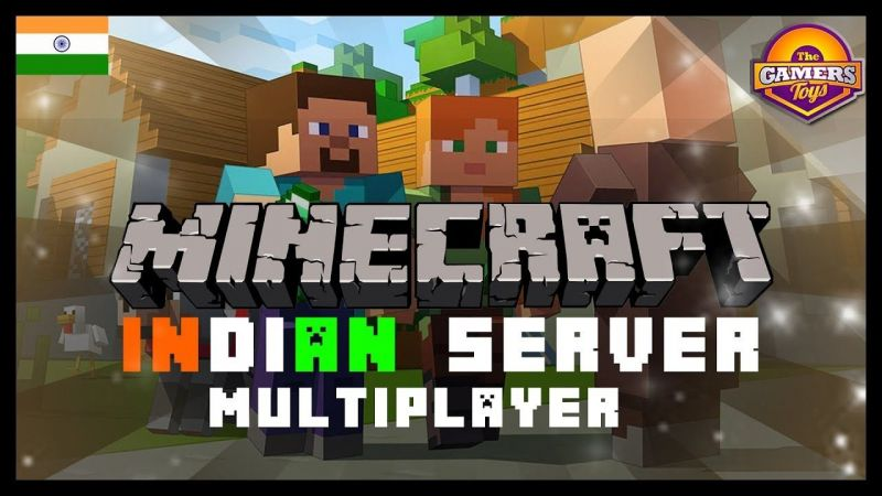 Indian Minecraft servers (Image credits: The GamersToys, YouTube)