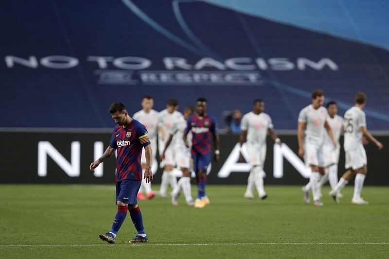 Is this the last time we saw Lionel Messi wear a Barcelona shirt?