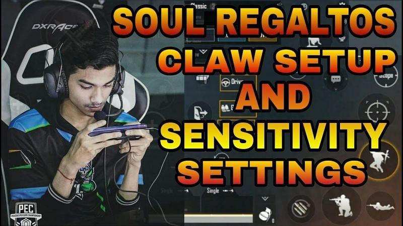 Soul Regaltos control setup and sensitivity settings (Image credits: Bhoomik gamer YT)