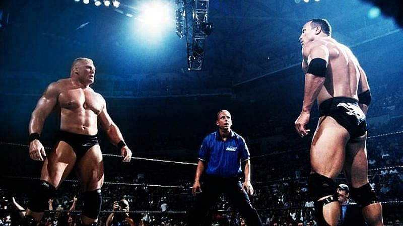ब्रॉक लैसनर vs द रॉक