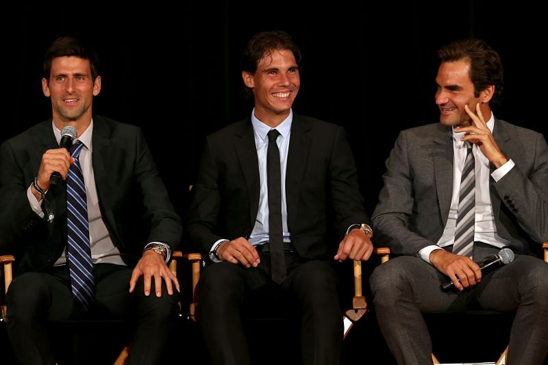Novak Djokovic, Rafael Nadal, and Roger Federer are a part of the ATP Player Council