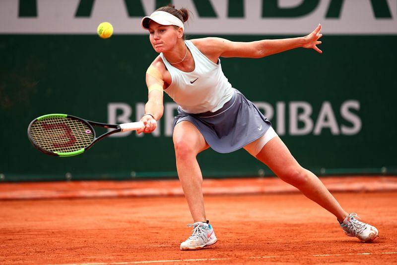 Veronika Kudermetova at the 2019 French Open