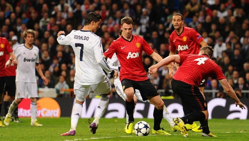 Cristiano Ronaldo tormented his former club in the 2012/13 Champions League