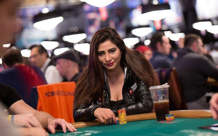Muskan Sethi playing poker (Photo: PokerStars.com)