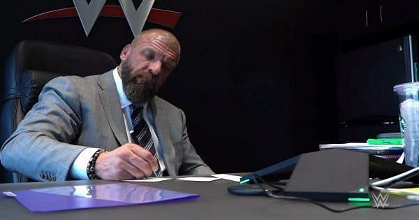 Triple H also shared backstage plans for WWE Draft