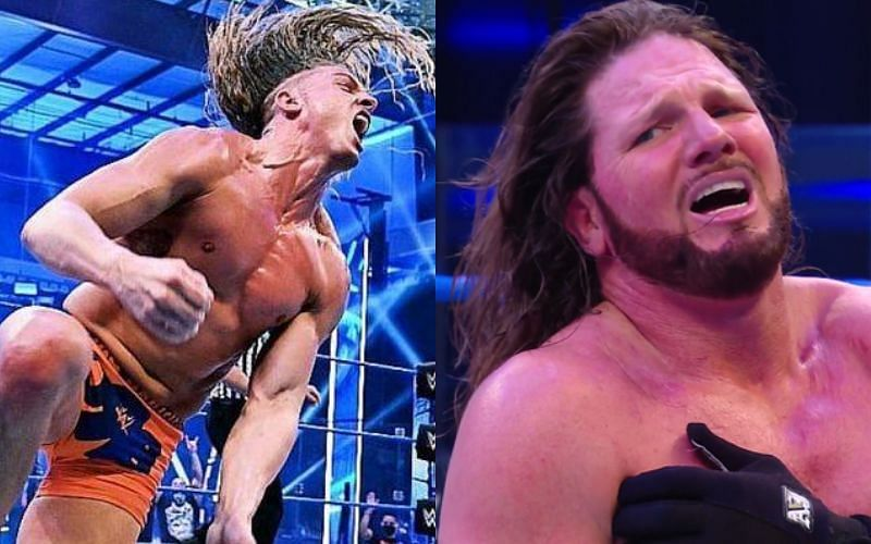 AJ Styles and Matt Riddle can feud again in the future
